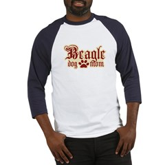 Beagle Mom Baseball Jersey