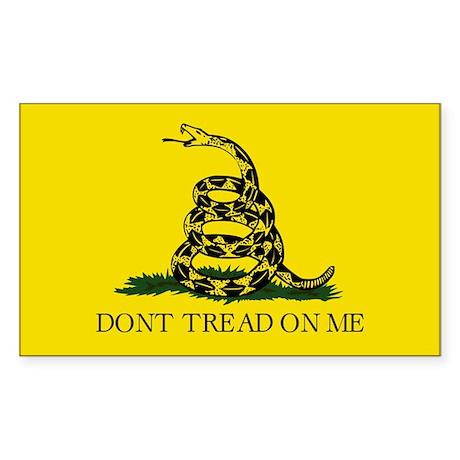 Gadsden Flag - Rectangle Sticker