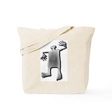 Dancing Man-stainless steel Tote Bag