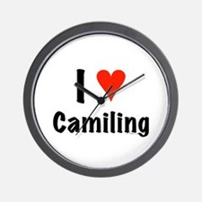 I love Camiling Wall Clock
