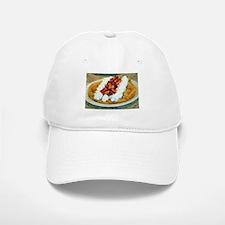 Funnel Cake Baseball Baseball Cap