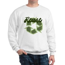 Reuse Recycle Symbol Sweatshirt