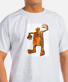 Dancing Man-rust T-Shirt