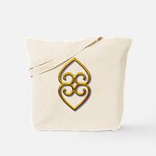 Adinkra Symbol - Earth- gold Tote Bag