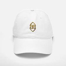 Adinkra Symbol - Earth- gold Baseball Baseball Cap
