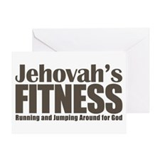 Jehovah's Fitness Greeting Card