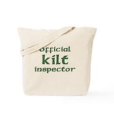 Official Kilt Inspector Tote Bag