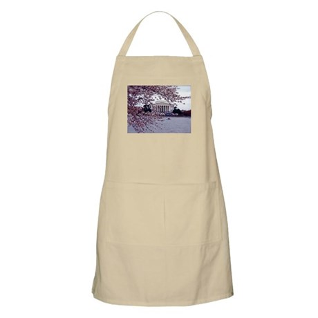 Cherry Blossoms, Washington, DC BBQ Apron