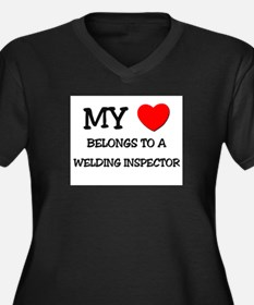 My Heart Belongs To A WELDING INSPECTOR Women's Pl