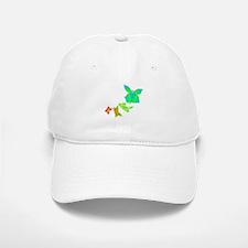 Butterfly Rainbow Baseball Baseball Cap