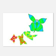 Butterfly Rainbow Postcards (Package of 8)