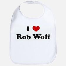 I Love Rob Wolf Bib