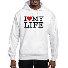 I (heart) My Life Hoodie