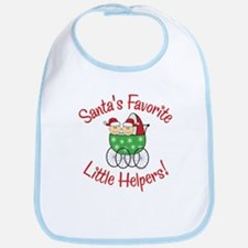SANTA'S FAVORITE LITTLE HELPERS Bib