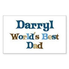 Darryl - Best Dad Rectangle Decal