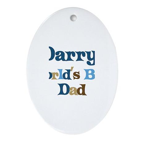 Darryl - Best Dad Oval Ornament
