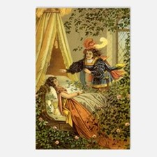 Vintage Sleeping Beauty Postcards (Package of 8)