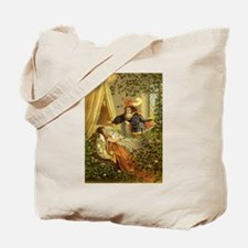 Vintage Sleeping Beauty Tote Bag