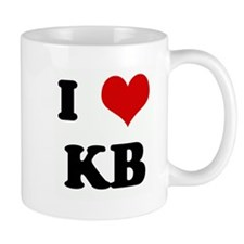 I Love KB Small Mug