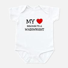 My Heart Belongs To A WAINWRIGHT Infant Bodysuit