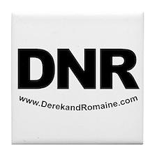 DNR Tile Coaster