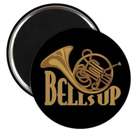 """Bells Up Horn 2.25"""" Magnet (100 pack)"""