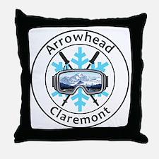 Funny Arrowhead Throw Pillow