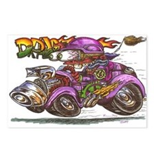 Unique Big daddy roth Postcards (Package of 8)