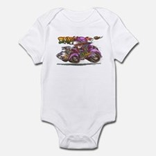 Unique Daddies hot rod Infant Bodysuit