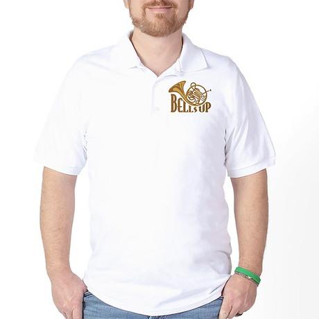 Bells Up Horn Golf Shirt