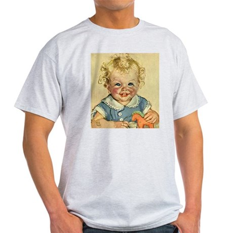 Vintage Cute Baby Light T-Shirt