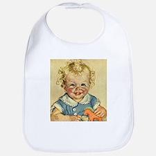 Vintage Cute Baby Bib