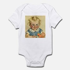 Vintage Cute Baby Infant Bodysuit