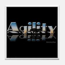 Agility Mirrored Tile Coaster