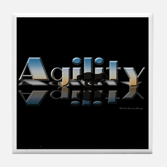 Agility Mirrored Tile Coaster
