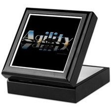 Agility Mirrored Keepsake Box