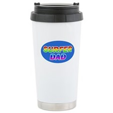 Surfer Dad Thermos Mug