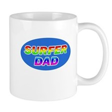 Surfer Dad Mug
