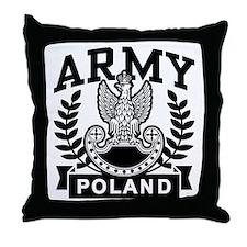 Polish Army Throw Pillow
