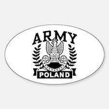 Polish Army Oval Decal