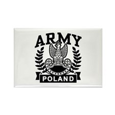 Polish Army Rectangle Magnet