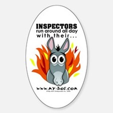 Inspectors Oval Decal