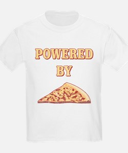 Powered By Pizza T-Shirt