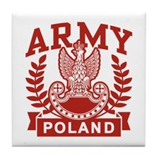 Polish Army Tile Coaster