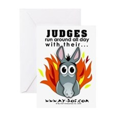 Judges Greeting Card