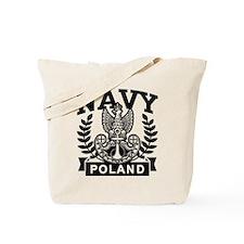 Polish Navy Tote Bag