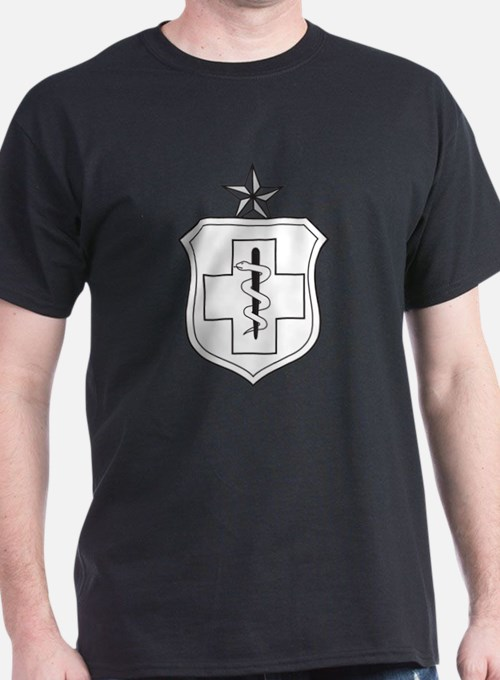 Enlisted Medical Black T-Shirt