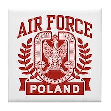 Polish Air Force Tile Coaster