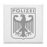 German polizei Drink Coasters