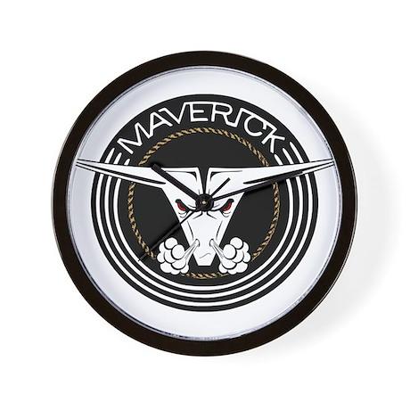 Maverick Head Wall Clock